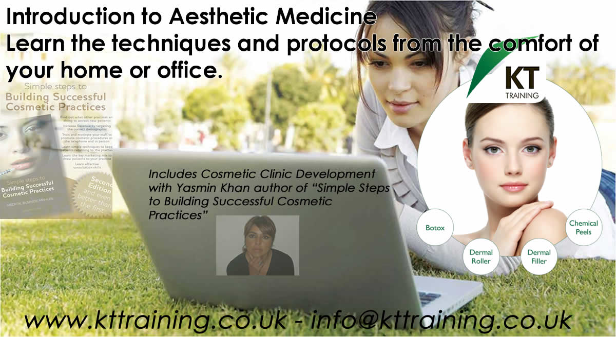 Introduction Aesthetic Medicine-KT Training Online Cosmetic Courses